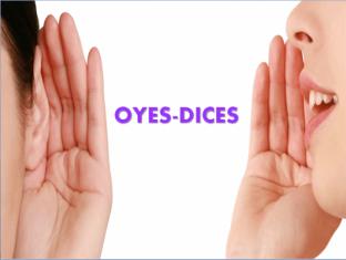 Prácticas centradas en la forma: Oyes-Dices
